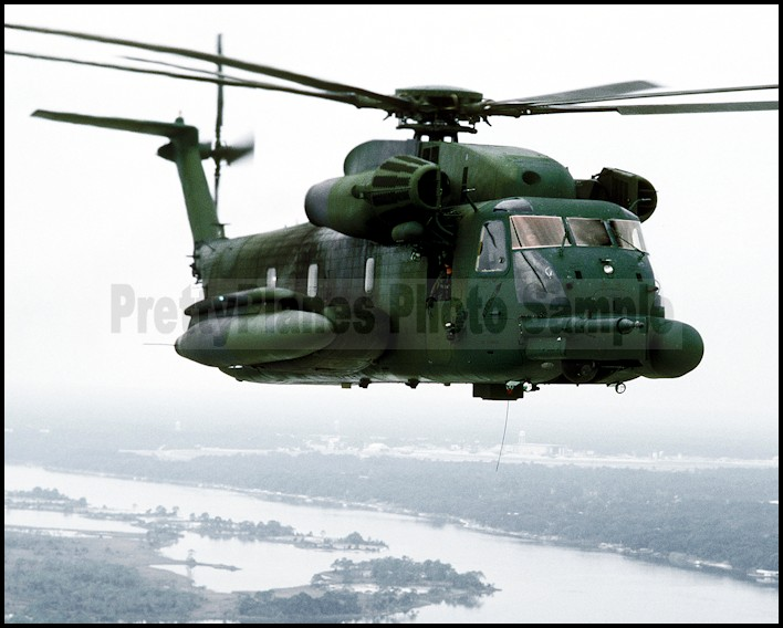 US Air Force USAF MH-53J Pave Low IIIE Helicopter 8X12 PHOTOGRAPH